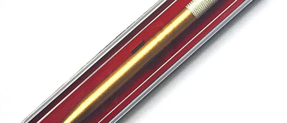 Pinkiou Manual Tattoo Pen Eyebrow Microblading Pens for Permanent Makeup (Gold)
