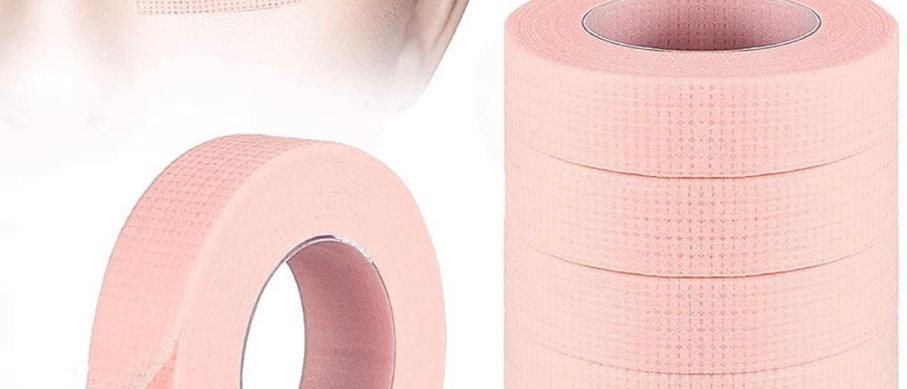 6 Rolls Eyelash Tape, TEOYALL Adhesive Lash Extension Tape Breathable Micropore