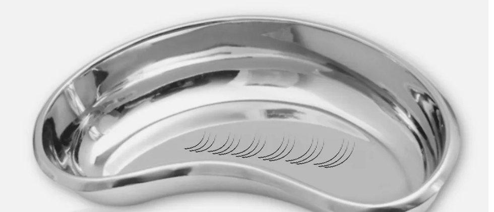 Microblading Tool TRAY - Stainless Steel Kidney Bowl SPMU needle pen ink holder