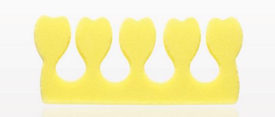 Yellow Toe Separators