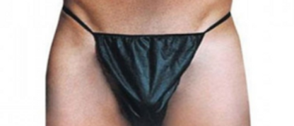 Disposable G-Strings (Black)