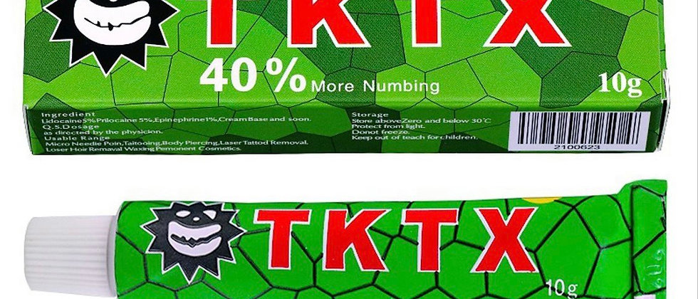 10g Green TKTX Topical Anaesthetic cream