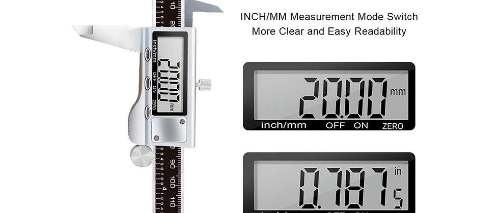 KETOTEK Digital Vernier Calipers, Micrometer Caliper 150 mm / 6 inch with Mm/Inc