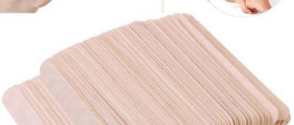 Wooden Waxing Spatulas