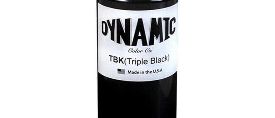 Dynamic Triple Black Tattoo Ink (8oz Bottle)