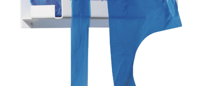 Premier® Polythene Aprons On A Roll