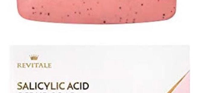 Revitale Salicylic Acid Scrub Soap, Pore Exfoliating, Softening Skin, Anti-Blemi