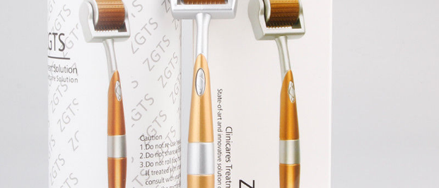 ZGTS Micro Needle Titanium Derma Roller Skin Care Anti Ageing