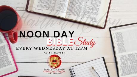 Noon Day Bible Study w/Elder Lynette Harris