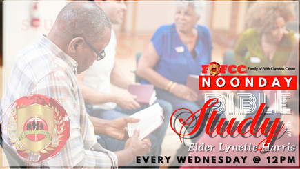 MidWeek Noon Day Bible Study