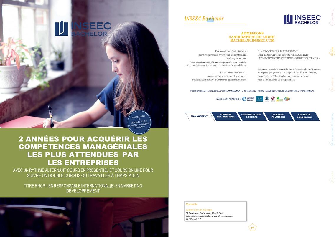 INSEEC Bachelor
