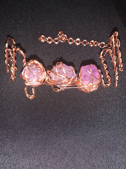 Amethyst Choker/ Crown