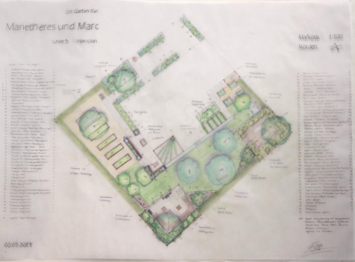 Multifunktionaler Einfamiliengarten