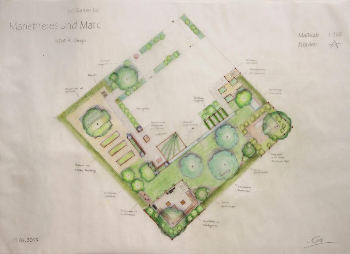 Multifunktionaler Familiengarten