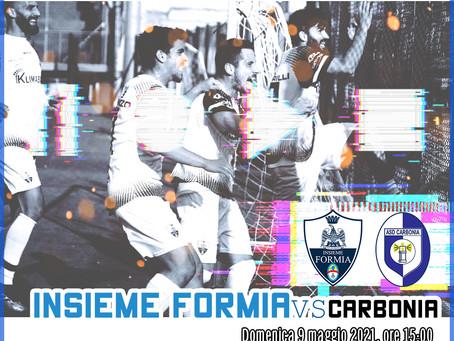 28° di Campionato - Insieme Formia Vs Carbonia