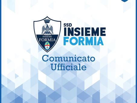 COMUNICATO UFFICIALE 15/01/2021