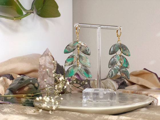 FAUNA - Turquoise and Granite