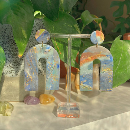 BREANNA - Abstract Blue Marble