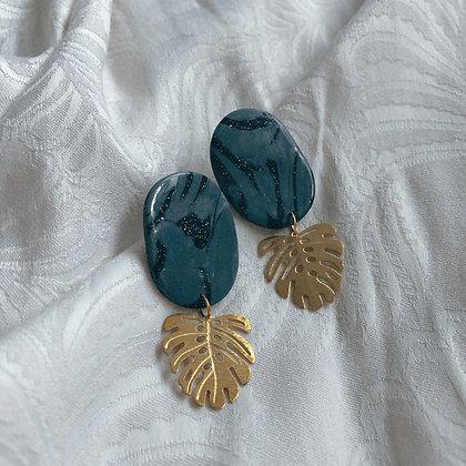 ANNALENA - Obsidian and Brass