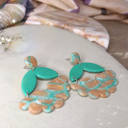 MIA - Turquoise and Pearl Pink