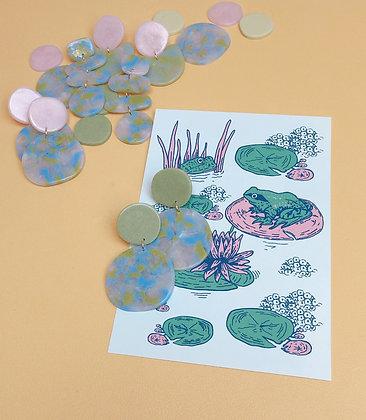 SELENE - Monet Water Lilies