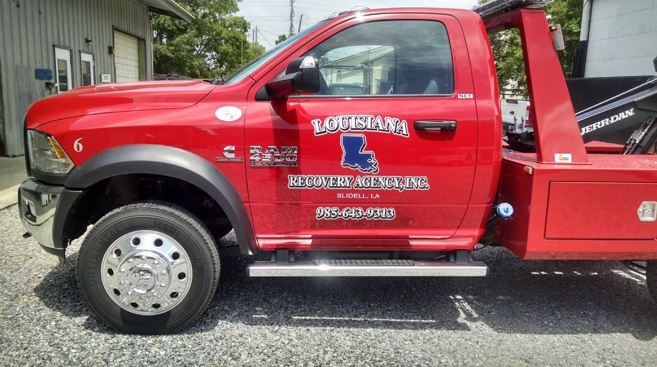 Tow Truck Lettering