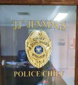 Pearl River Police Door
