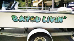 Full Color Boat Graphics