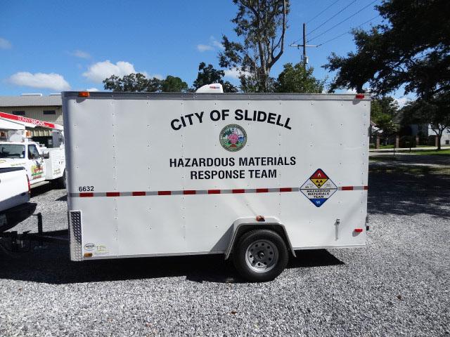 City of Slidell Hazmat Trailer