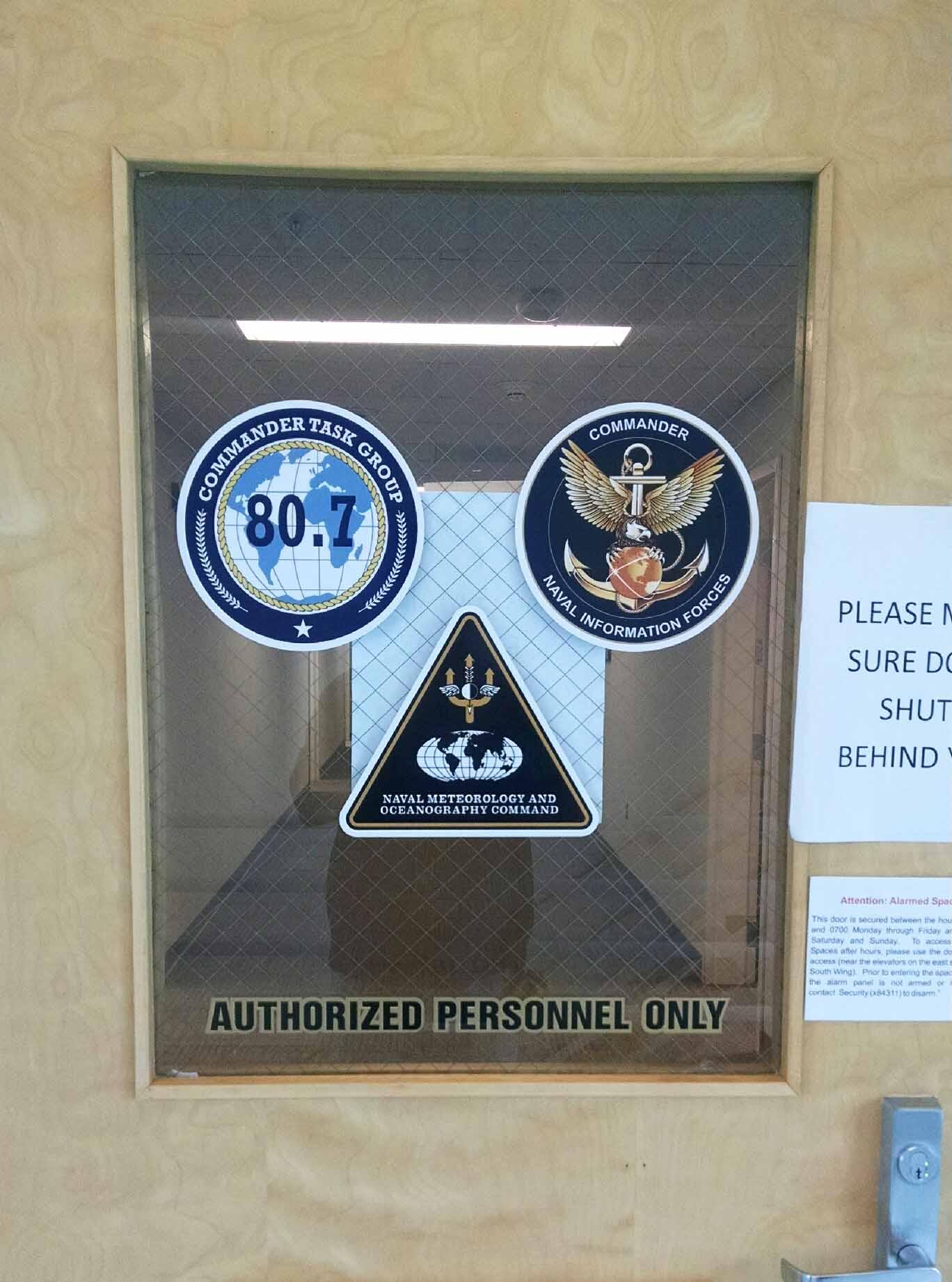 Logos on Glass