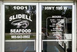 Slidell Seafood Glass