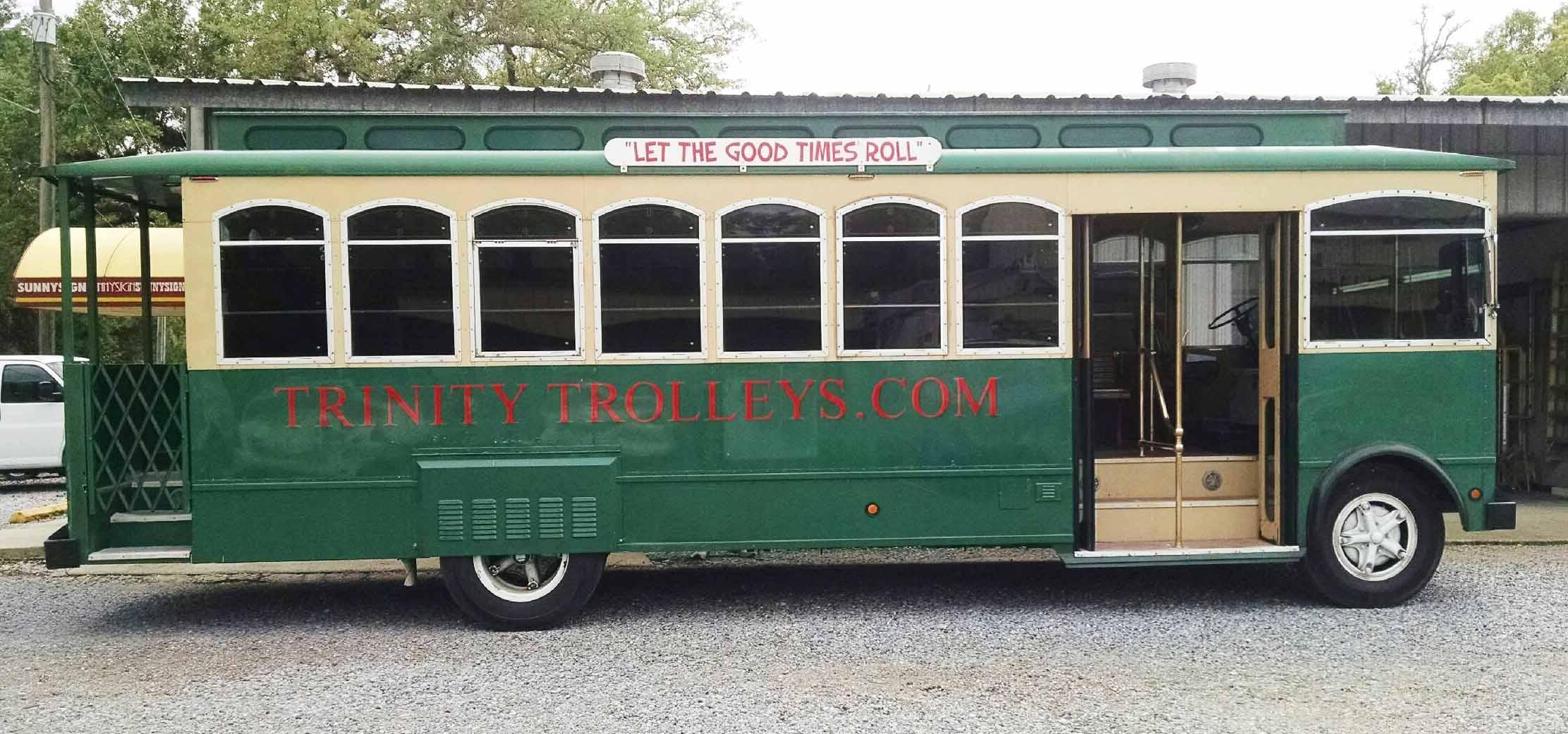 Trolley Lettering