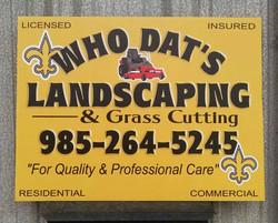 Job Site Sign