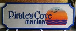 Pirates Cove Marina 8x3 sf Sandblast