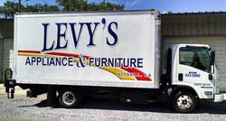 Furniture Truck Lettering