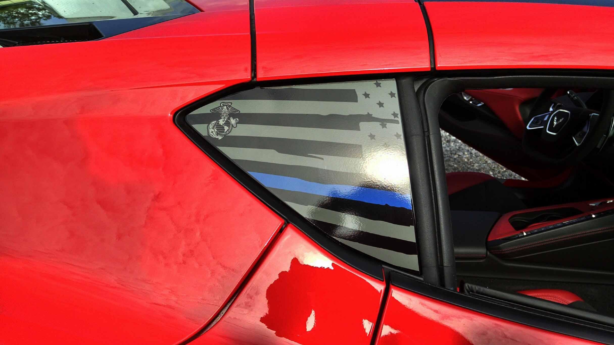 Corvette Custom Lettering