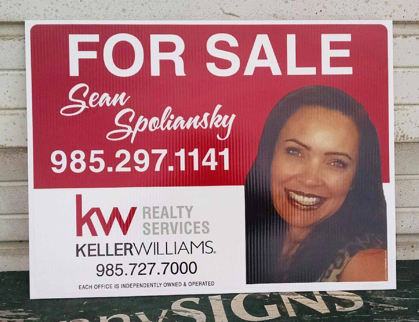 Keller Williams sign