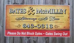 Alumalite sign
