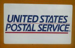 USPS Magnetic sign