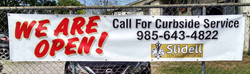 Curbside Delivery Banner