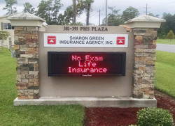 State Farm Electronic Message Sign