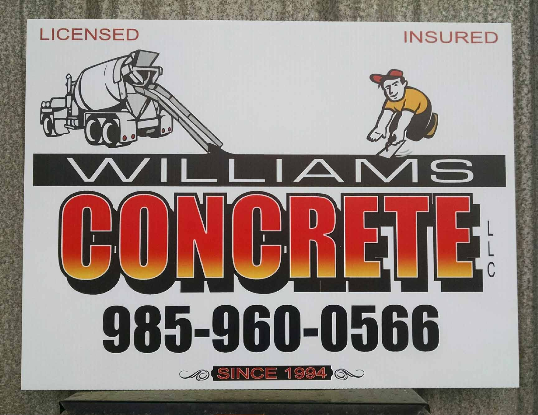 Job Site Sign