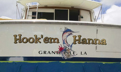 Hookem Hanna Boat