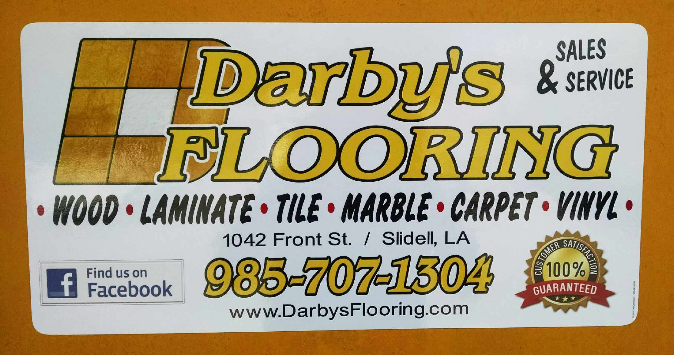 Digitally printed Magnetic sign