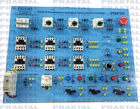Entrenador en Control y Protección de Motores Eléctricos