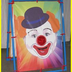 Clown Bean Bag Game