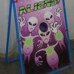 BackDrop Game Alien