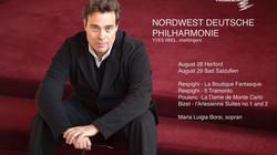 YVES ABEL: Chief Conductor designate: NordwestDeutsche Philarmonie, Germany
