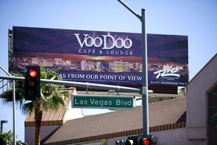 Billboarded on the Vegas Strip