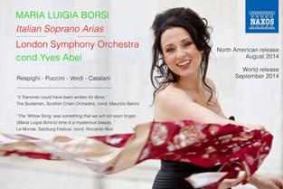 MARIA LUIGIA BORSI and The LONDON SYMPHONY ORCHESTRA